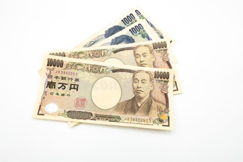 dinheiro de japão fotografia de stock