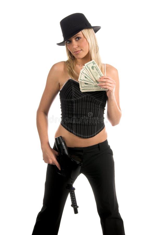 Dinheiro disponivel fotografia de stock
