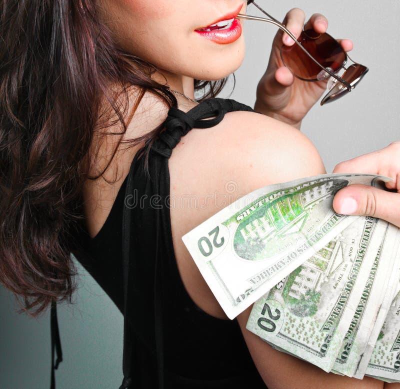 Dinheiro do dinheiro do dinheiro fotos de stock
