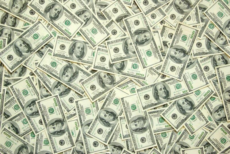 Dinheiro do fundo fotos de stock