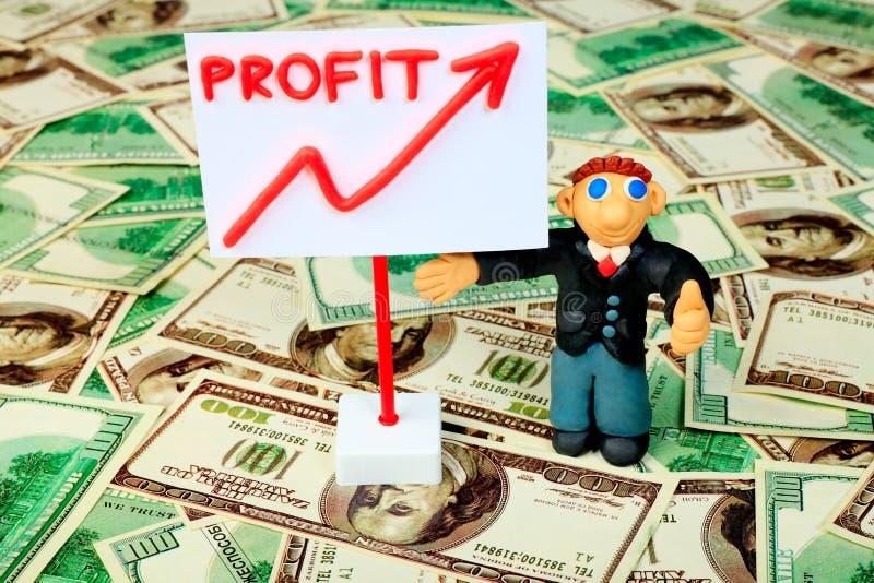 Dinheiro do lucro imagem de stock royalty free