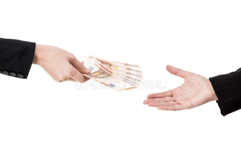 Dinheiro em mudança fotografia de stock royalty free