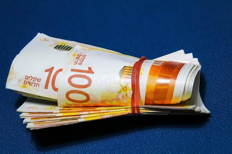 Dinheiro israelita   imagens de stock royalty free