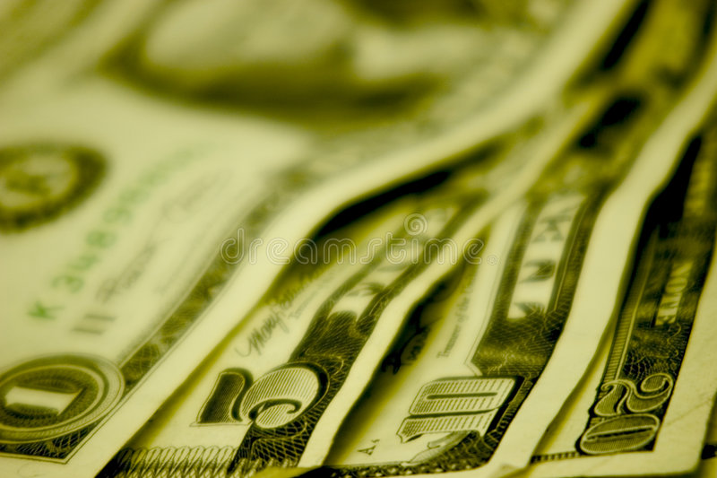 Dinheiro na tabela fotos de stock royalty free