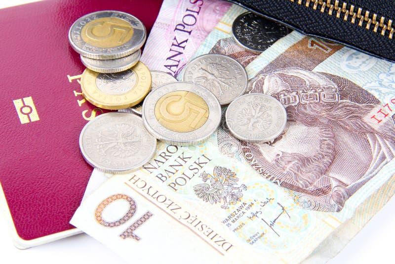 Dinheiro polonês foto de stock royalty free