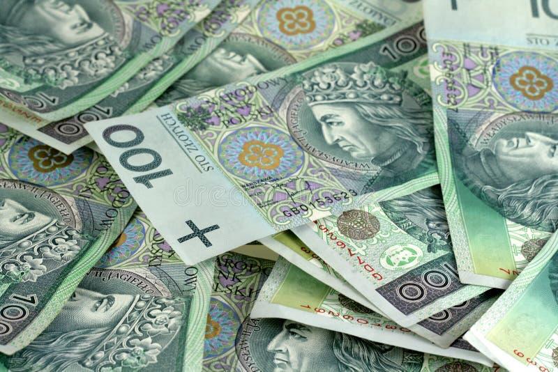 Dinheiro polonês fotografia de stock royalty free