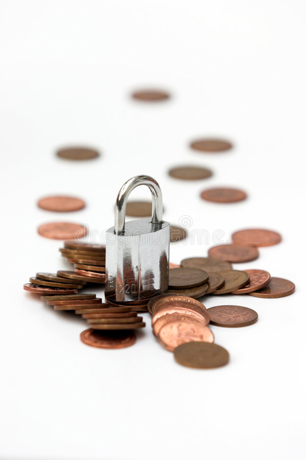 Dinheiro seguro fotos de stock royalty free
