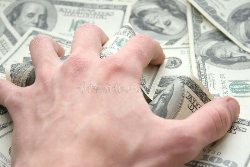 Dinheiro. Todo Meu! Imagens de Stock Royalty Free