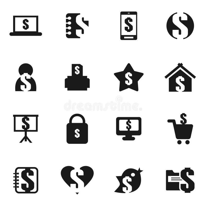 Dinheiro um icon8 ilustração do vetor