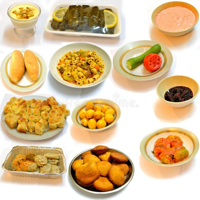 Dining food from the kitchen Arab stock images