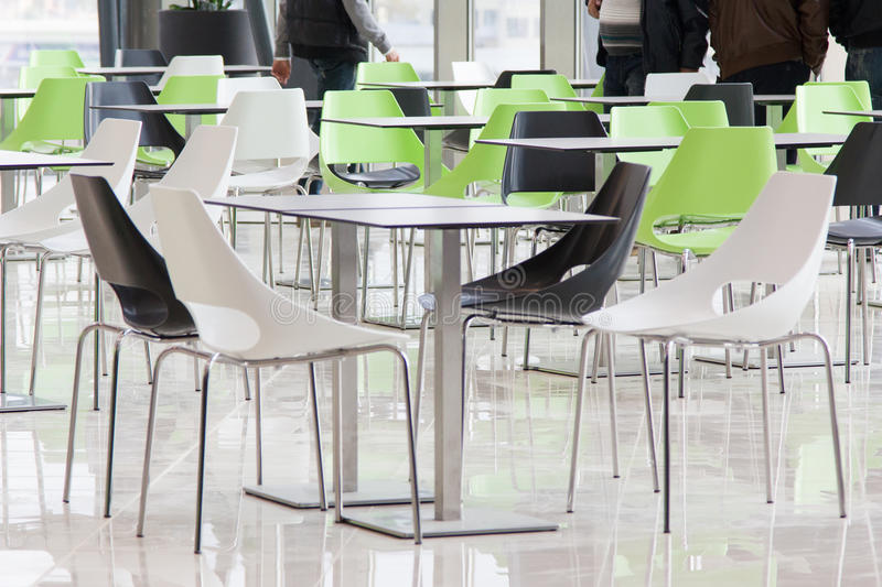 Download Dining hall stock photo. Image of huge, chairs, bistro - 33687636