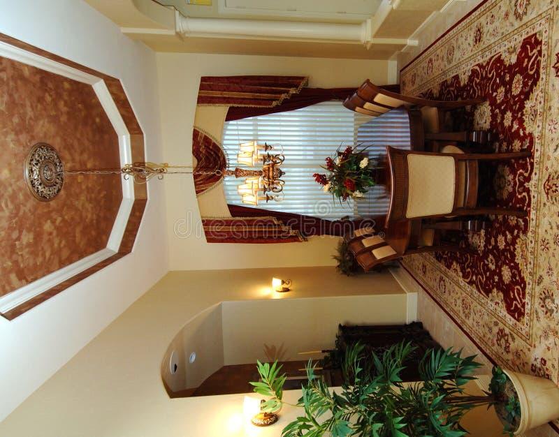 dining interior room στοκ φωτογραφία