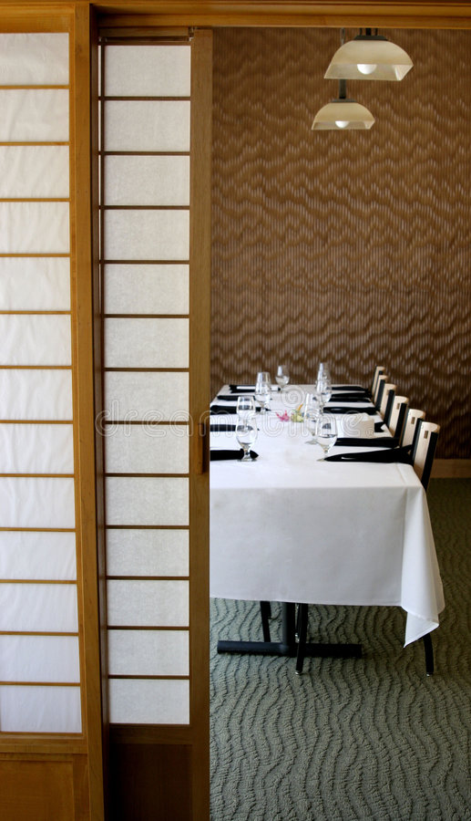 Dining Japanese Stlye royalty free stock photo