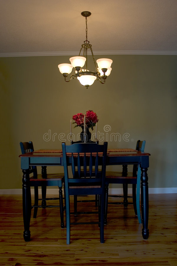 Download Dining Room stock photo. Image of inside, elegant, residential - 1413414
