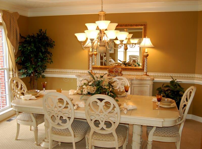dining room στοκ εικόνες