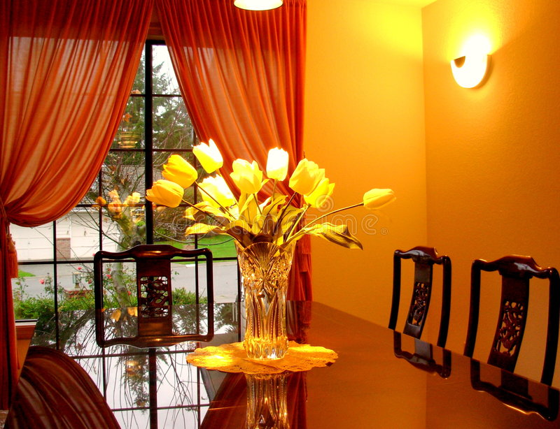 dining room στοκ φωτογραφία