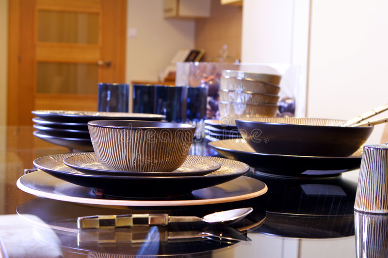 Download Dining room stock image. Image of entertain, dinner, flatware - 1778707