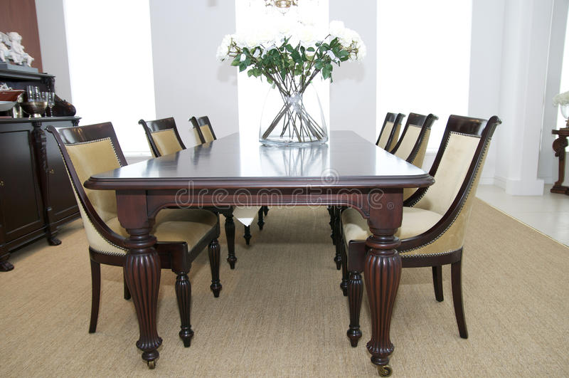 Download Dining room stock photo. Image of onyx, indoors, interior - 25869080