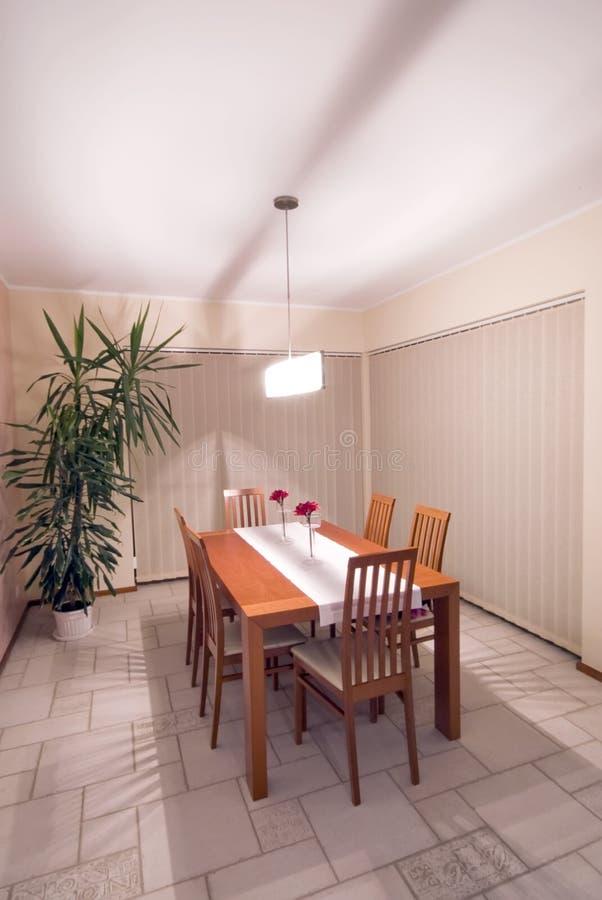Download Dining room stock image. Image of corner, lamp, interior - 3595711