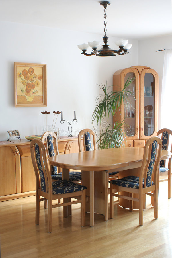 Dining room. Home interior