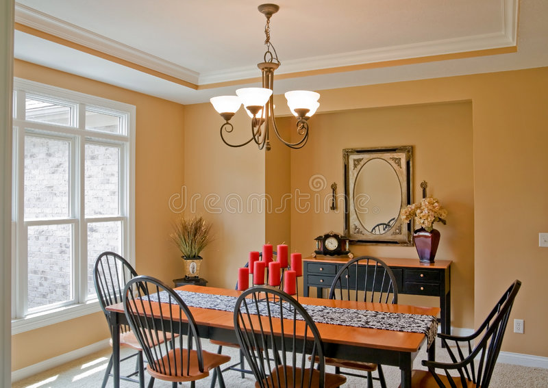 Download Dining Room stock image. Image of interior, modern, decor - 8832377