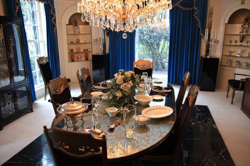 Download Dining Room At Elvis Presleys Graceland Editorial Photo