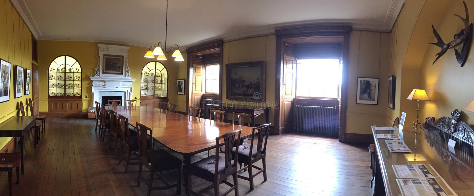 Download Dining Room In Harewood House Leeds West Yorkshire UK Editorial Stock Image