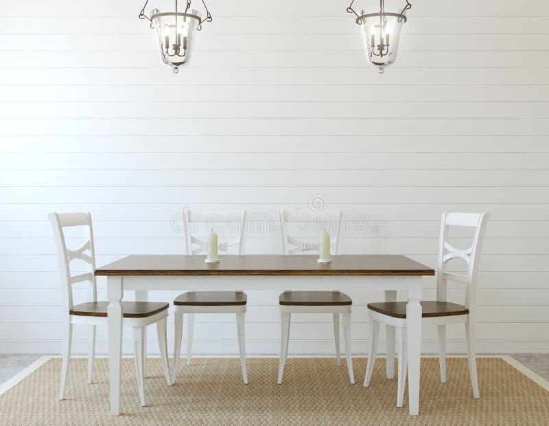 Dining-room interior. 3d render