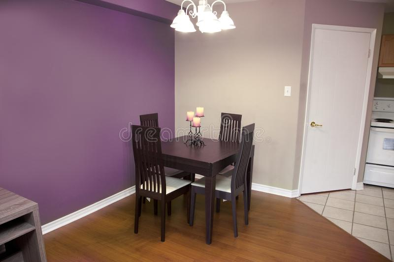 Dining room or kitchen set stock images