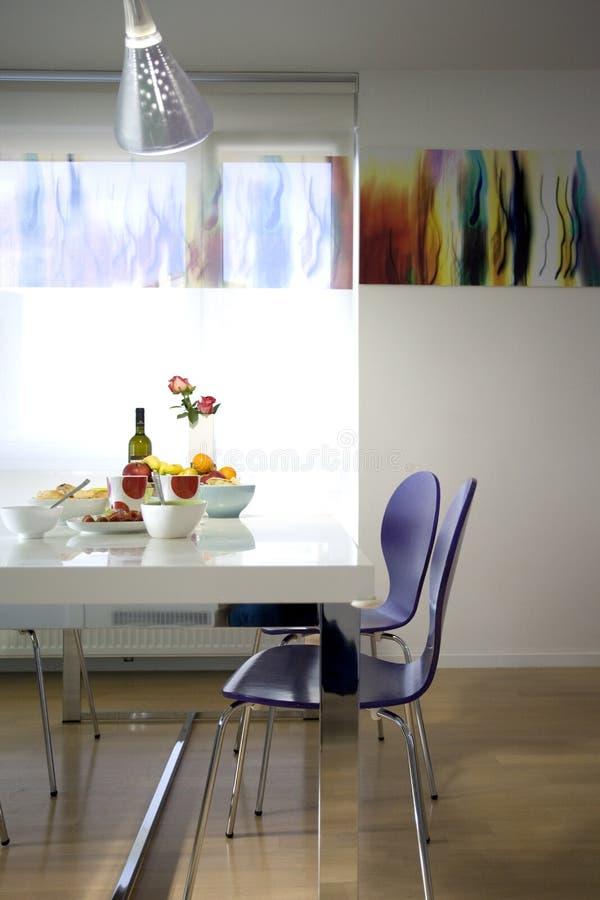 Dining Room Modern Stock Photos