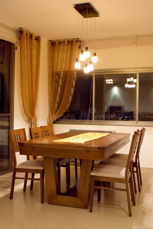 Download Dining-room table stock image. Image of homey, dining - 2314985
