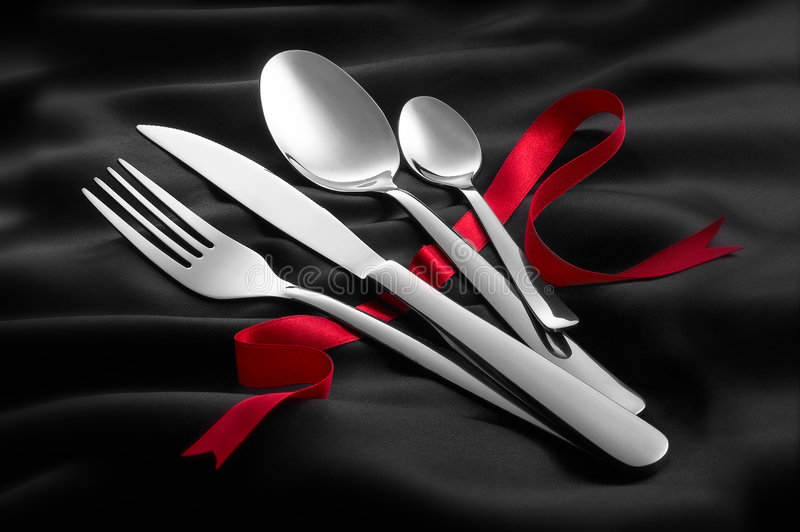 Download Dining setting stock photo. Image of ribbon, dine, occasion - 5922216