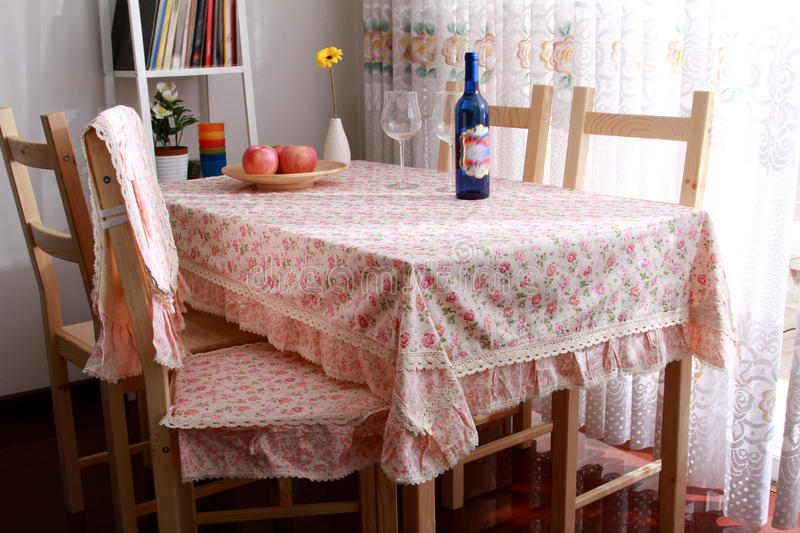 Download Dining table stock image. Image of decoration, comfortable - 18373127
