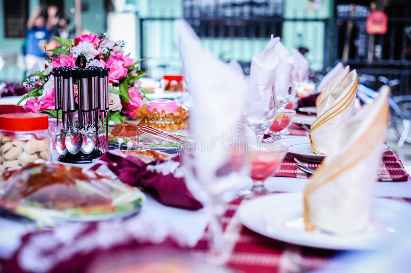 Download Elegant Dining Table stock photo. Image of party, dining - 30273584