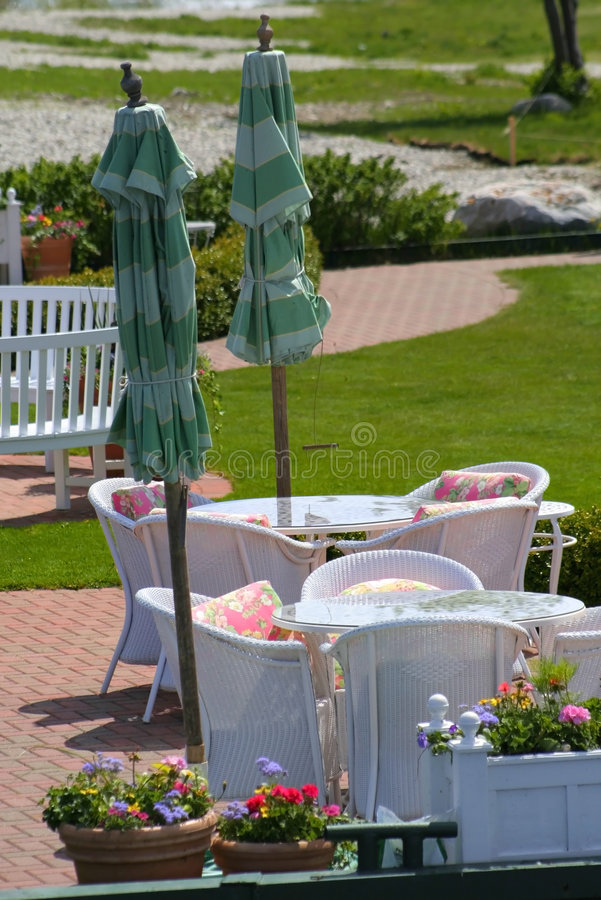 Metal Garden Furniture Stock Image Image Of Object