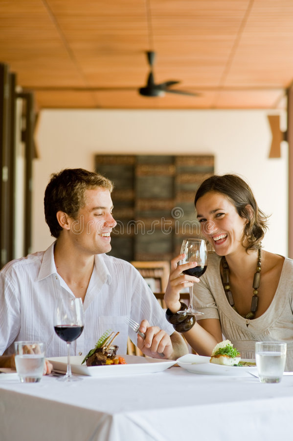 Dining Together royalty free stock images