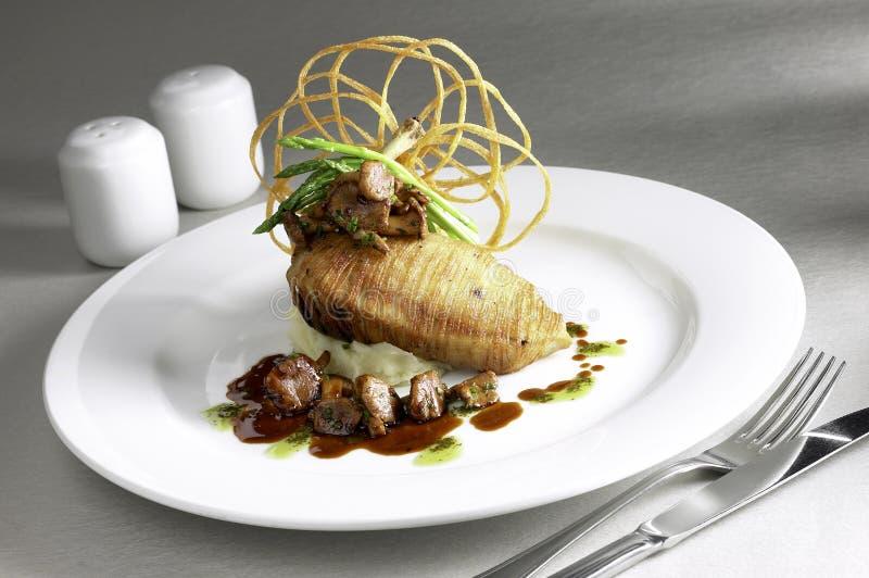 Dining5 fine fotografia stock libera da diritti