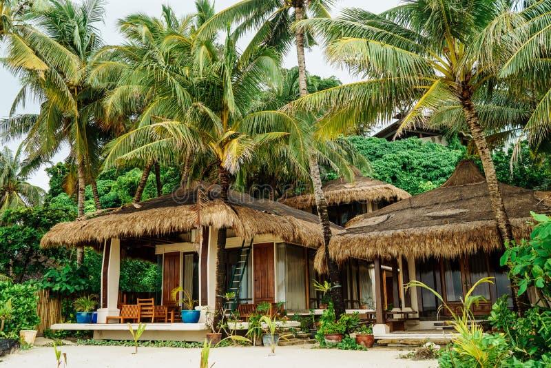 Diniwid-Strandansicht, Weißsandstrand in Boracay-Insel auf den Philippine stockfotos