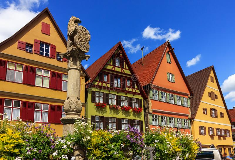 Dinkelsbuhl - Βαυαρία - Γερμανία στοκ εικόνες με δικαίωμα ελεύθερης χρήσης