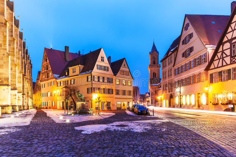 Dinkelsbuhl, Alemanha fotografia de stock
