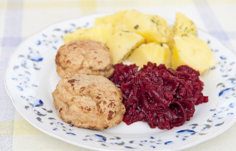Download Dinner stock image. Image of chopped, beet, chops, dish - 29479599