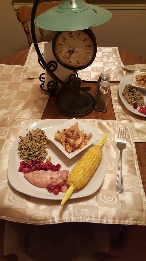 dinner obraz stock