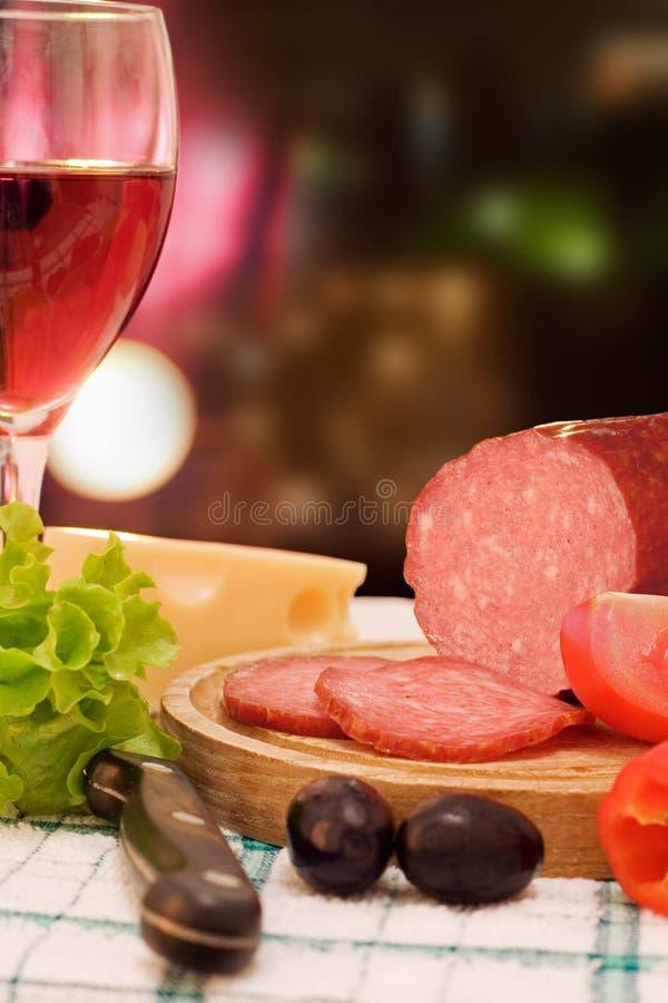 Dinner closeup stock photography