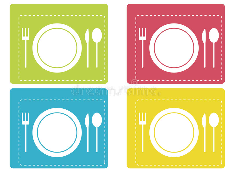 Download Dinner icons stock vector. Image of element, cover, invitation - 7062327
