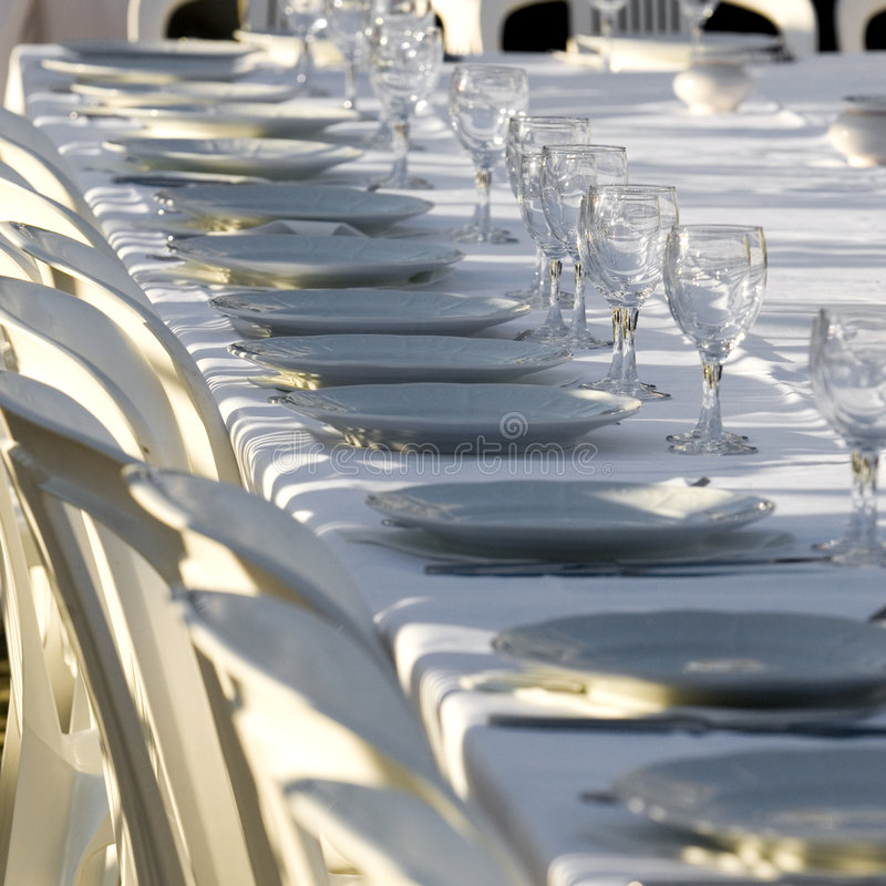 Download Dinner party stock photo. Image of service, party, meal - 2345478