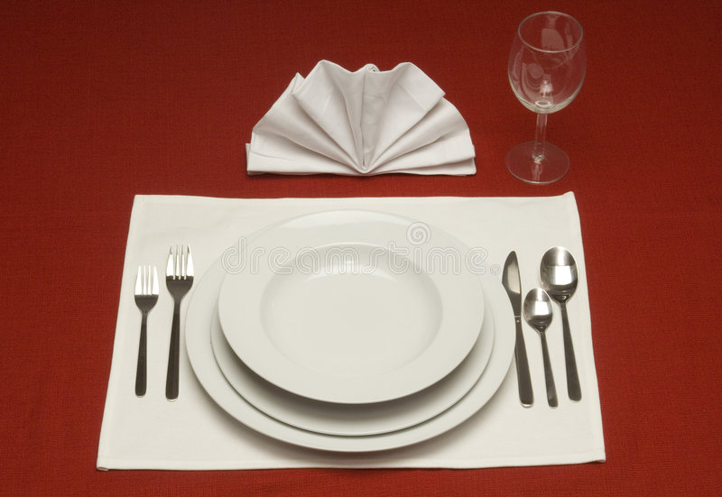 Download Dinner Place Setting stock photo. Image of restaurant - 4619702