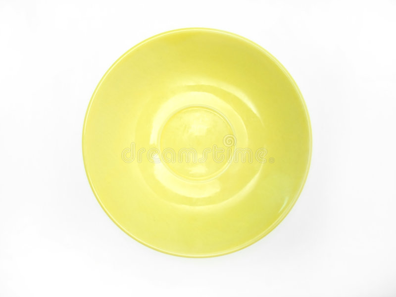 Download Dinner Plate stock photo. Image of ceramic, clay, yellow - 30440