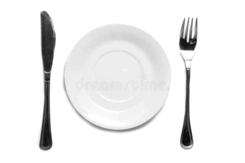 Dinner Set Royalty Free Stock Images