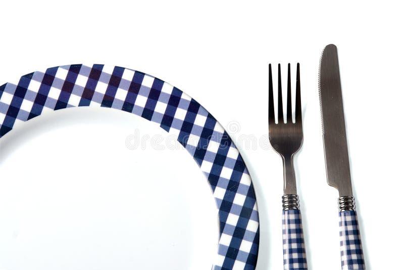 Download Dinner Set (plate, Fork, Knife) Stock Illustration - Image: 13259203