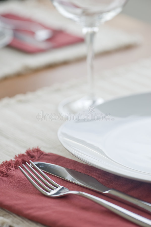 Download Dinner Setting stock photo. Image of placemat, silverware - 7484074